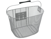 Electra Basket QR Steel Mesh Silver - 2-Rad-Sport Wehrle