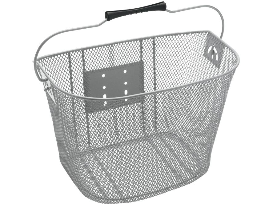 Electra Basket QR Steel Mesh Silver - Electra Basket QR Steel Mesh Silver