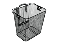 Electra Basket Steel Mesh Rack Pan Black Rear - Bike Maniac