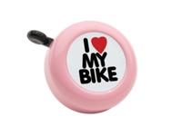 Electra Bell I Love My Bike Pink - Bike Maniac