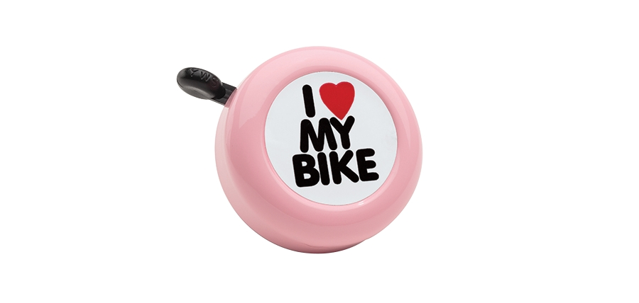 Electra Bell I Love My Bike Pink - Electra Bell I Love My Bike Pink