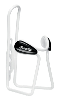 Electra Water Bottle Cage Alloy Button White - Bike Maniac