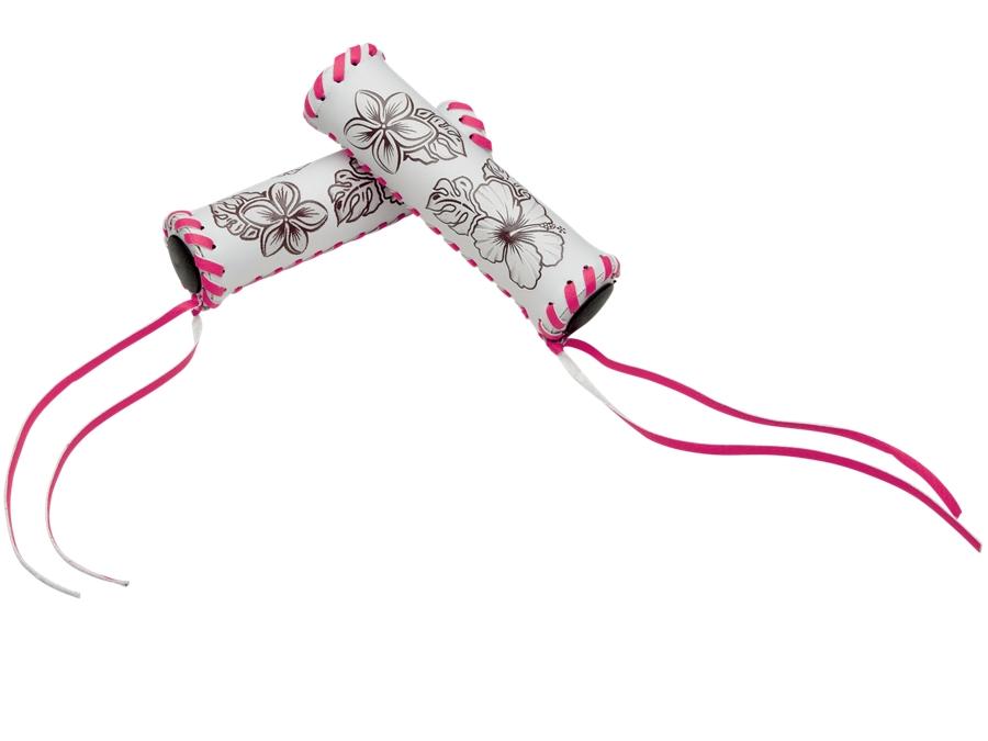 Electra Grip Hawaii Long White/Pink - Electra Grip Hawaii Long White/Pink