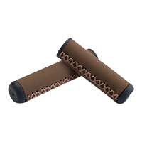 Electra Grip Hand-Stitched Long/Short Brown - Bike Maniac