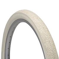 Electra Tire Crusier Blossom Trail 26 x 2.125 Cream - Bike Maniac