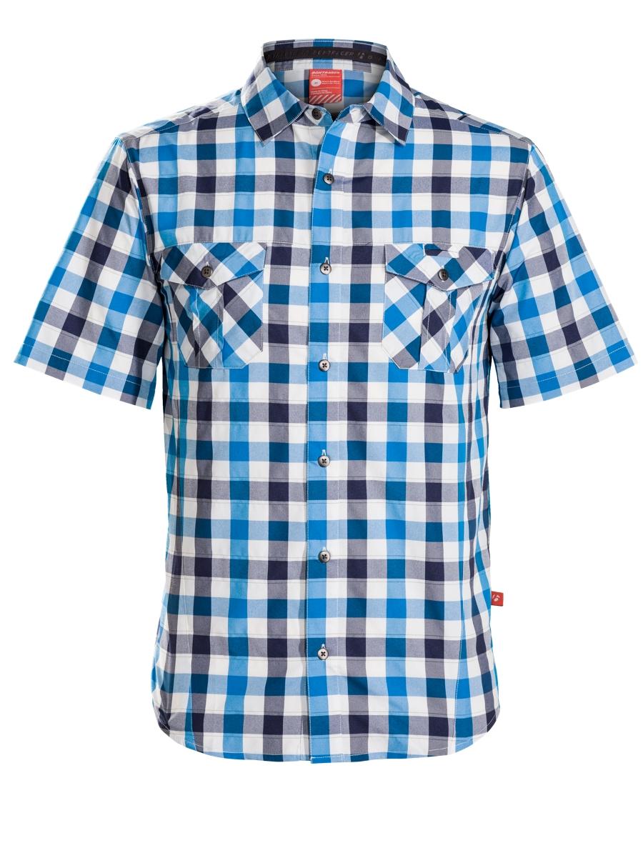 Bontrager Shirt Boardwalk XL Blue/Navy - Bontrager Shirt Boardwalk XL Blue/Navy