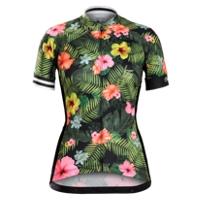 Bontrager Trikot Anara Womens S Floral Stripe - RADI-SPORT alles Rund ums Fahrrad