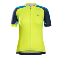 Bontrager Trikot Sonic Womens L Visibility Yellow - RADI-SPORT alles Rund ums Fahrrad