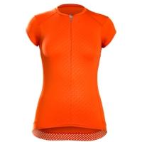 Bontrager Trikot Vella Womens S Tomato Orange - RADI-SPORT alles Rund ums Fahrrad