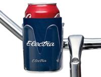 Electra Cage Can Holder Plastic w/Navy Koozie - Bike Maniac