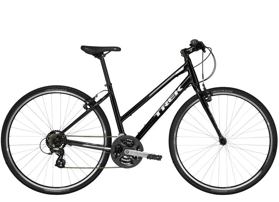 Trek FX 1 Stagger 17.5 L Trek Black - Trek FX 1 Stagger 17.5 L Trek Black