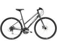 Trek FX 2 Womens Disc Stagger 17.5 L Solid Charcoal - Radsport Jachertz