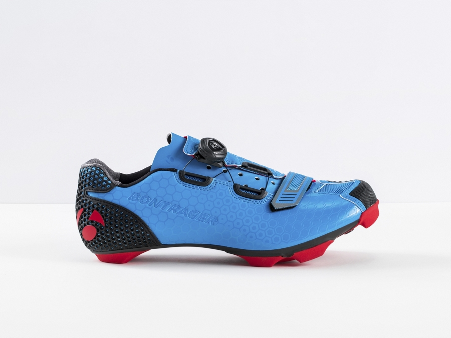 Bontrager Schuh Cambion Mens 41 Electric Blue - Bontrager Schuh Cambion Mens 41 Electric Blue