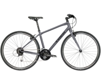Trek FX 3 Womens 15 Matte Metallic Charcoal - Bike Maniac
