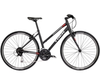 Trek FX 3 Womens Stagger 17.5 L Matte Trek Black - Radsport Jachertz