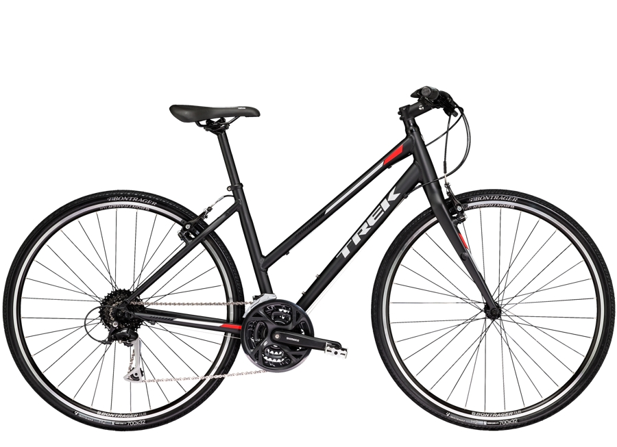 Trek FX 3 Womens Stagger 17.5 L Matte Trek Black - Trek FX 3 Womens Stagger 17.5 L Matte Trek Black