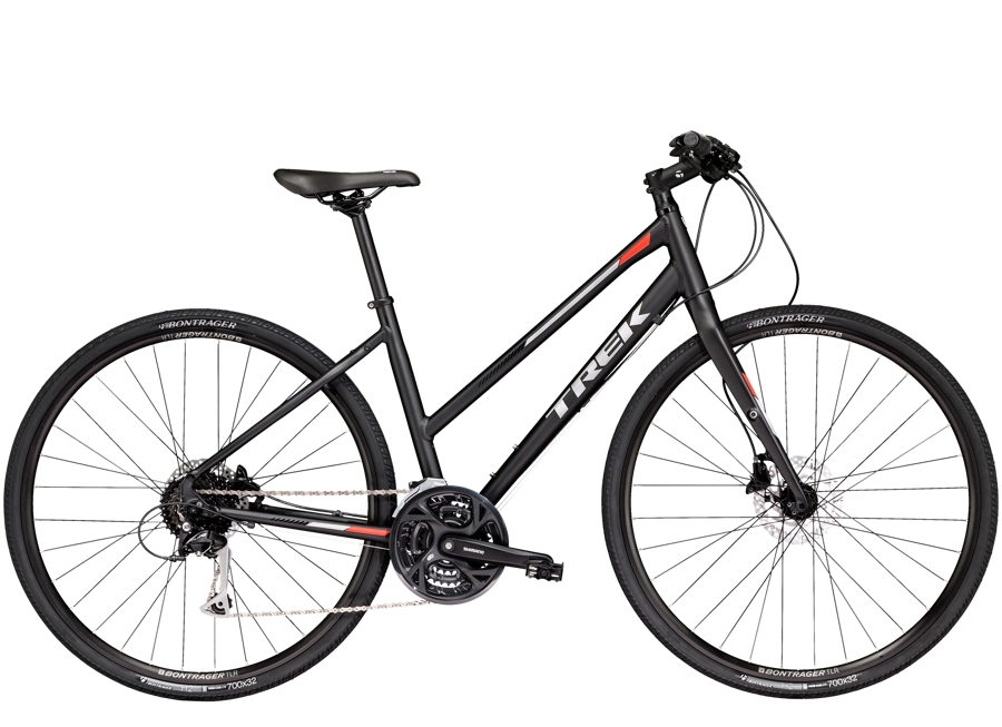 Trek FX 3 Womens Disc 20 L Matte Trek Black - Trek FX 3 Womens Disc 20 L Matte Trek Black