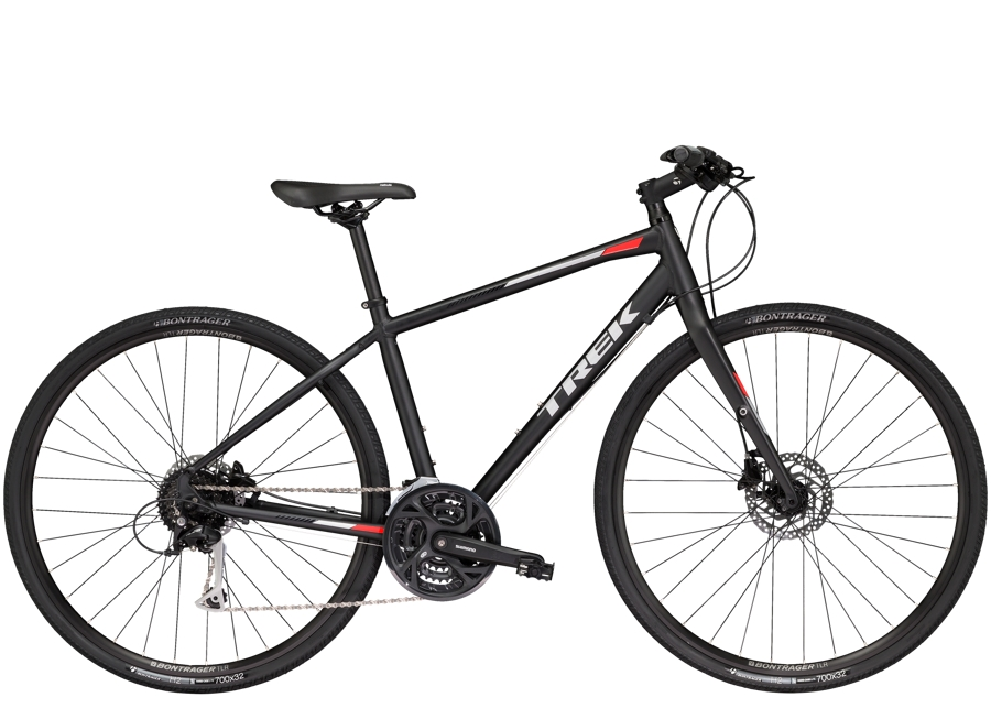 Trek FX 3 Womens Disc 20 Matte Trek Black - Trek FX 3 Womens Disc 20 Matte Trek Black