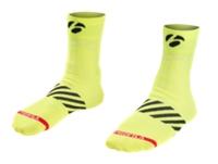 Bontrager Socke Velocis 6cm S (36-39) Visibility Yellow - Bike Maniac