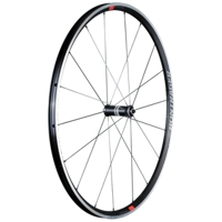 Bontrager Vorderrad Paradigm Elite TLR Charcoal/Viper Red - Bike Maniac