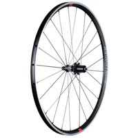 Bontrager Hinterrad Paradigm Elite TLR Charcoal/Viper Red - Bike Maniac