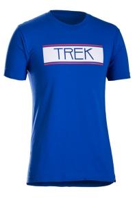 Bontrager T-Shirt Trek Vintage 76 XL Royal Blue - schneider-sports