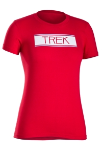 Bontrager Shirt Vintage 76 Womens T Small Red - Bike Maniac