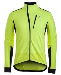 Bontrager Jacke Velocis S1 Softshell L Visibility Yellow - RADI-SPORT alles Rund ums Fahrrad