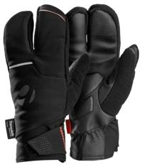 Bontrager Handschuh Velocis S2 Softshell Split Finger L BK - schneider-sports