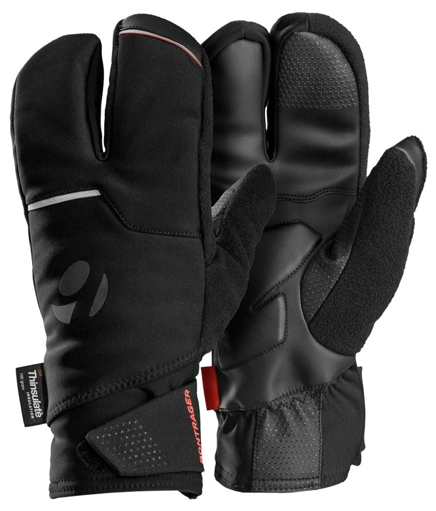 Bontrager Handschuh Velocis S2 Softshell Split Finger M BK - Bontrager Handschuh Velocis S2 Softshell Split Finger M BK