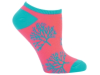 Electra Sock Coral No Cuff Ladies One Size - Bike Maniac
