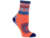 Electra Sock Tribal Orange 5 Ladies One Size - Bike Maniac