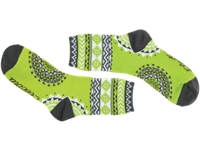 Electra Sock Tribal Green 5 Ladies One Size - Bike Maniac