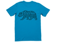 Electra Shirt Bear Graphic T Mens Small Ocean - Bike Maniac