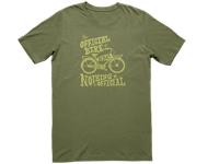 Electra Shirt Nothing Official T Mens Small Olive - Bike Maniac