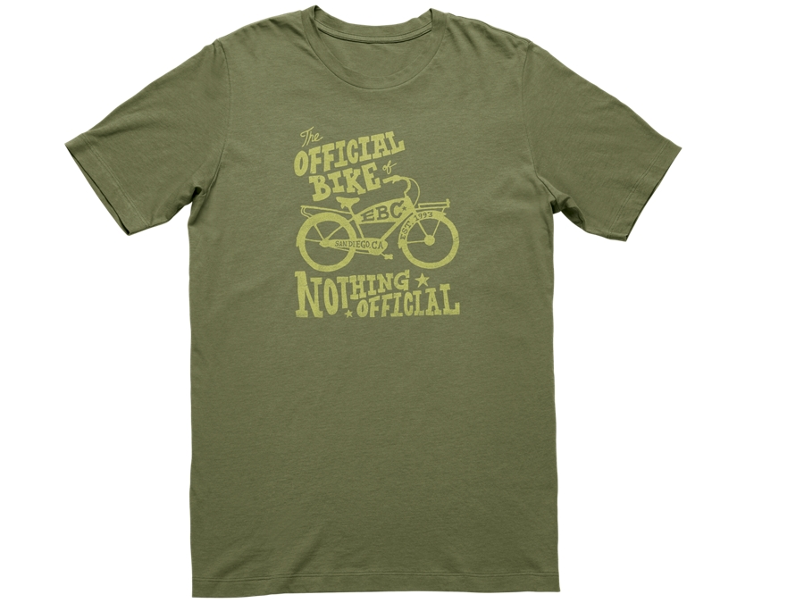 Electra Shirt Nothing Official T Mens XX-Large Olive - Electra Shirt Nothing Official T Mens XX-Large Olive