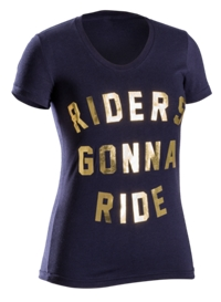 Bontrager Shirt Riders Gonna Womens T X-Large Navy - schneider-sports