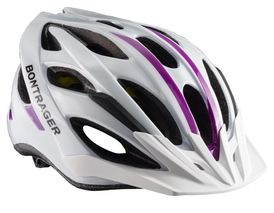 Bontrager Helm Solstice Women MIPS S/M Wht/Purple CE - Bontrager Helm Solstice Women MIPS S/M Wht/Purple CE
