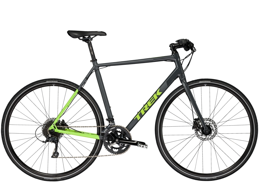 Trek Zektor 3 56cm Gloss & Matte Solid Charcoal/Volt Green - Trek Zektor 3 56cm Gloss & Matte Solid Charcoal/Volt Green