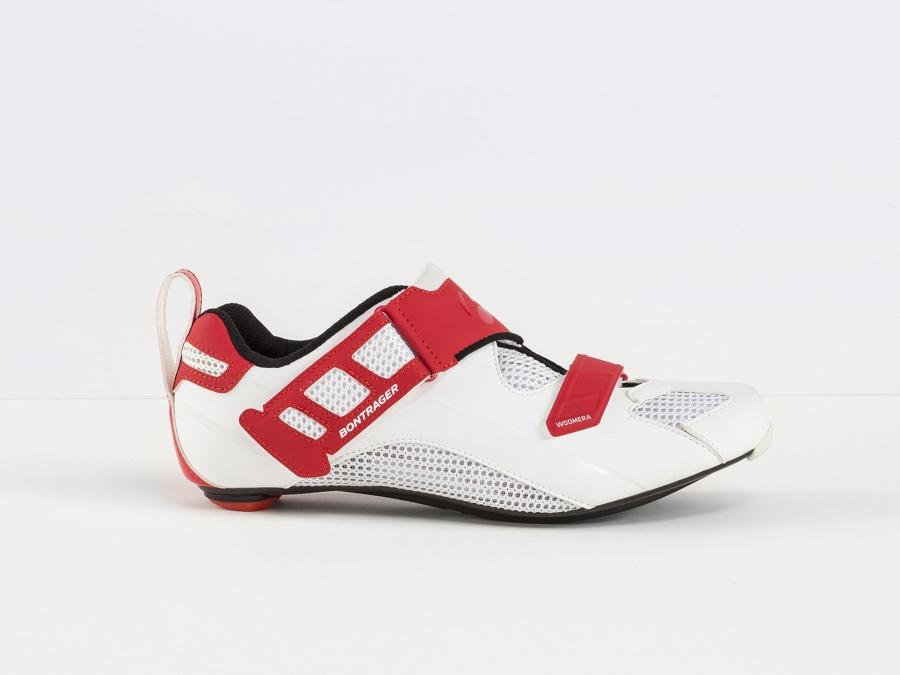 Bontrager Schuh Woomera 39 White/Red - Bontrager Schuh Woomera 39 White/Red