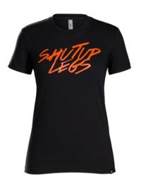 Bontrager Shirt Shut Up Legs Womens T-Shirt XL Black/Orange - schneider-sports