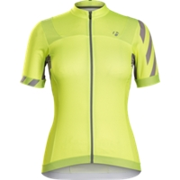 Bontrager Trikot Meraj Halo Womens L Vis Yellow - Bike Maniac