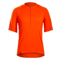Bontrager Trikot Rhythm L Tomato Orange - Bike Maniac