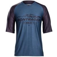 Bontrager Shirt Lithos Tech Tee XXL Orion Blue - RADI-SPORT alles Rund ums Fahrrad