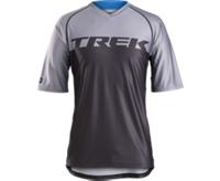 Bontrager Shirt Lithos Tech Tee XS Black/Charcoal - Bike Maniac