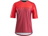 Bontrager Shirt Lithos Tech Tee XL Viper Red/Cobra Red - Bike Maniac