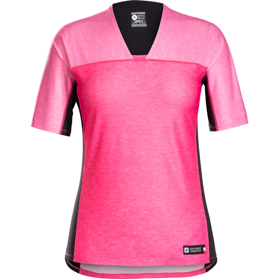 Bontrager Shirt Tario Tech Tee Womens XS Vice Pink - Bontrager Shirt Tario Tech Tee Womens XS Vice Pink