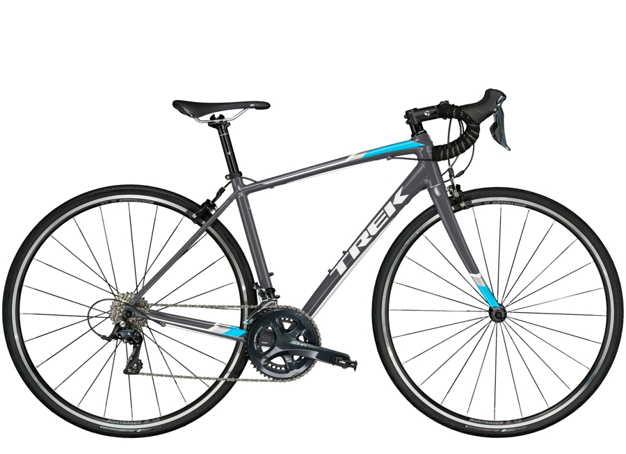 Trek Domane AL 3 Womens 47cm Solid Charcoal - Trek Domane AL 3 Womens 47cm Solid Charcoal