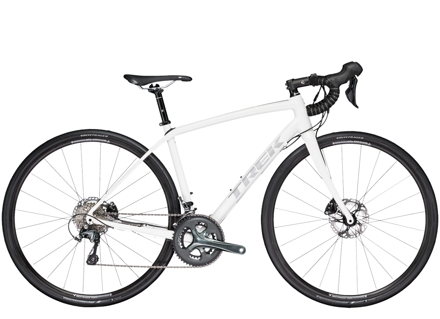 Trek Domane ALR 4 Disc Womens 50cm Trek White - Trek Domane ALR 4 Disc Womens 50cm Trek White