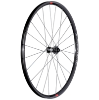 Bontrager Vorderrad Paradigm Comp Disc 12T Charcoal/Red - Bike Maniac